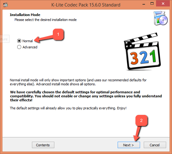 Скачать K Lite Codec Pack для Windows 8